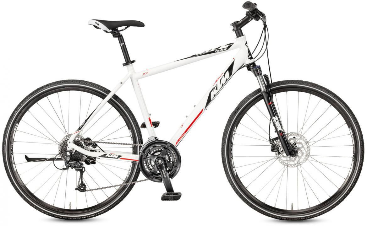 Велосипед городской KTM Life Track Disc-M 2017, цвет: белый, рама 20, колесо 28281915