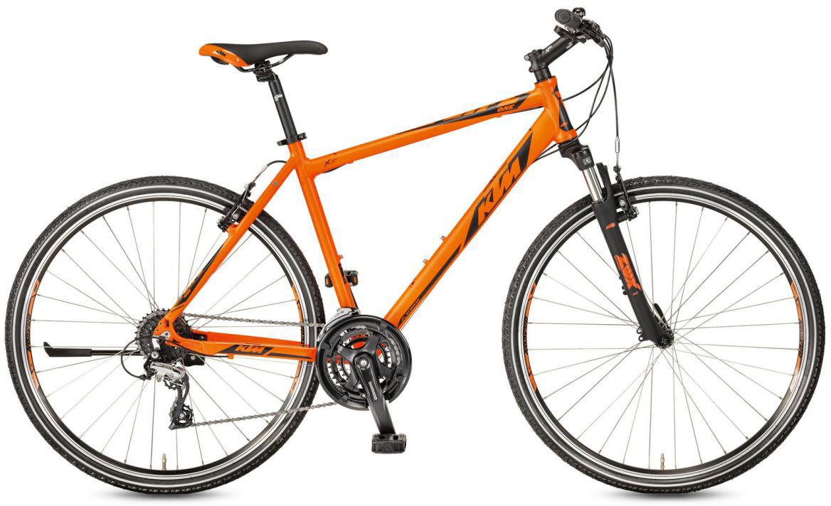 Велосипед городской KTM Life One 2017, цвет: оранжевый, рама 18, колесо 28281926