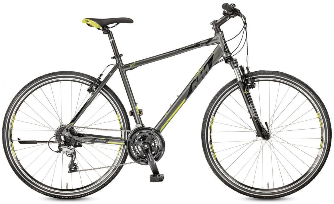 Велосипед городской KTM Life One 2017, цвет: серый, рама 22, колесо 28281932