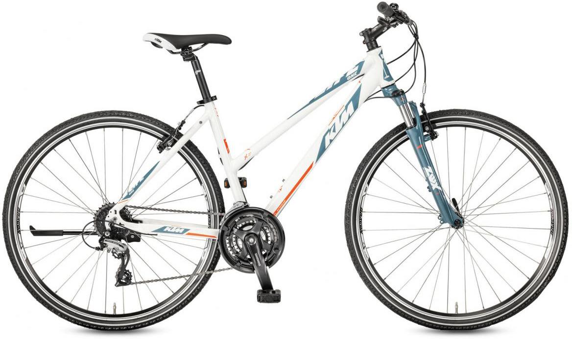Велосипед городской KTM Life One Trapez 2017, цвет: белый, рама 20, колесо 28281946