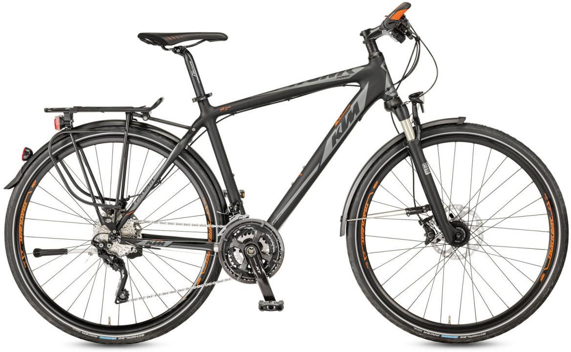 Велосипед городской KTM Phonic 2017, цвет: черный, рама 22, колесо 28281949