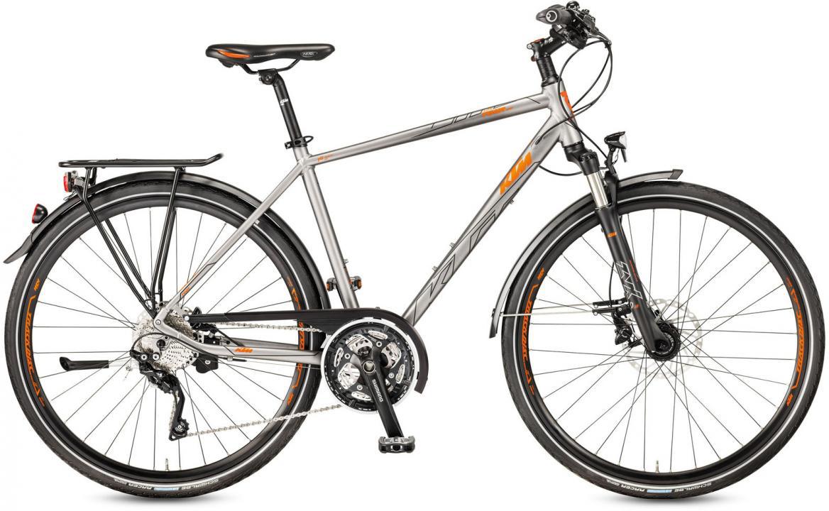 Велосипед городской KTM Life Tour Light 2017, цвет: серый, рама 18, колесо 28281958