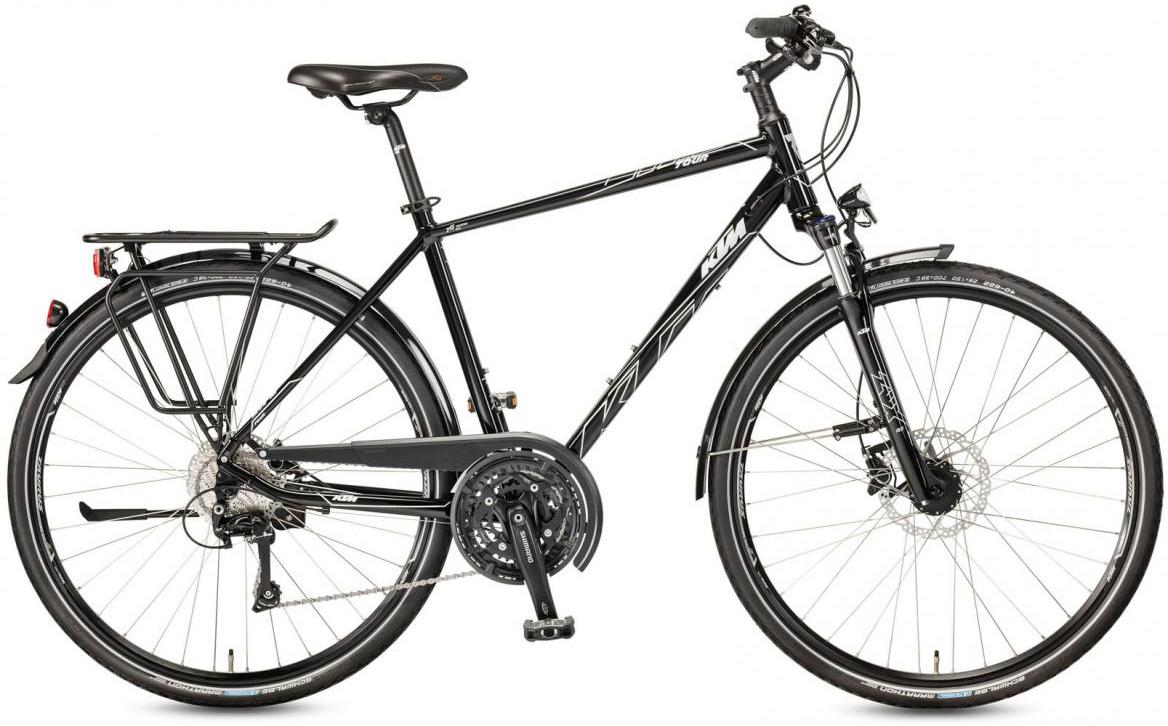 Велосипед городской KTM Life Tour 2017, цвет: черный, рама 23,5, колесо 28281969