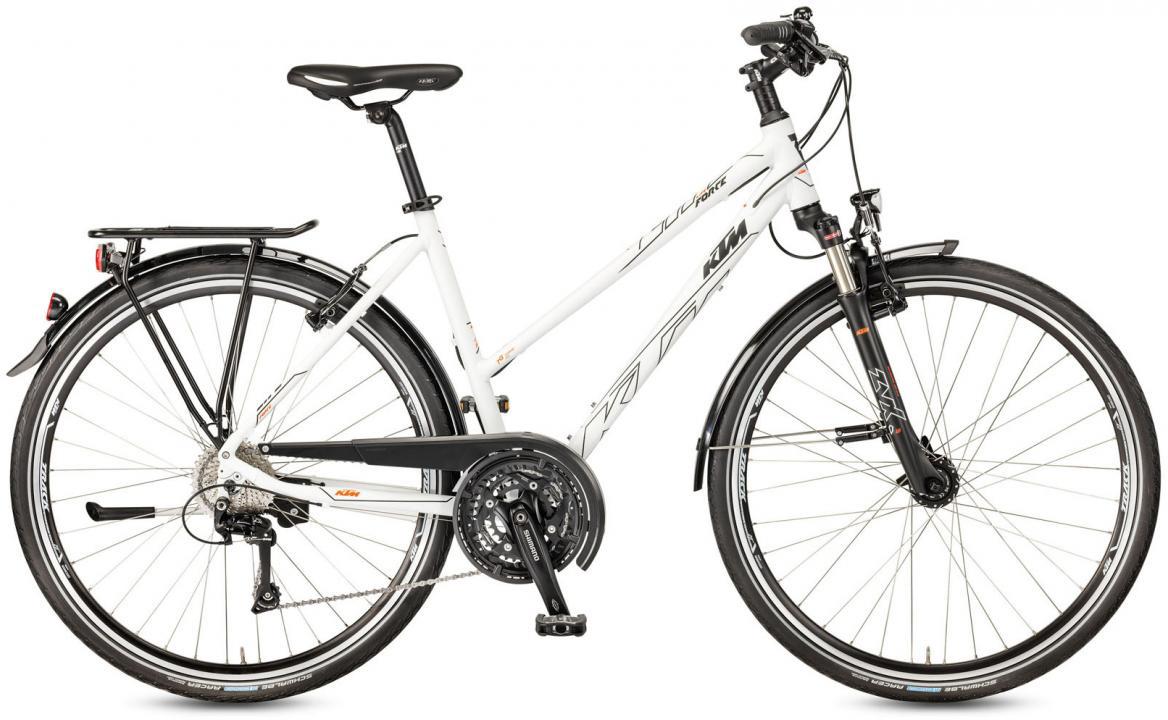 Велосипед городской KTM Life Force Trapez 2017, цвет: белый, рама 18, колесо 28281978