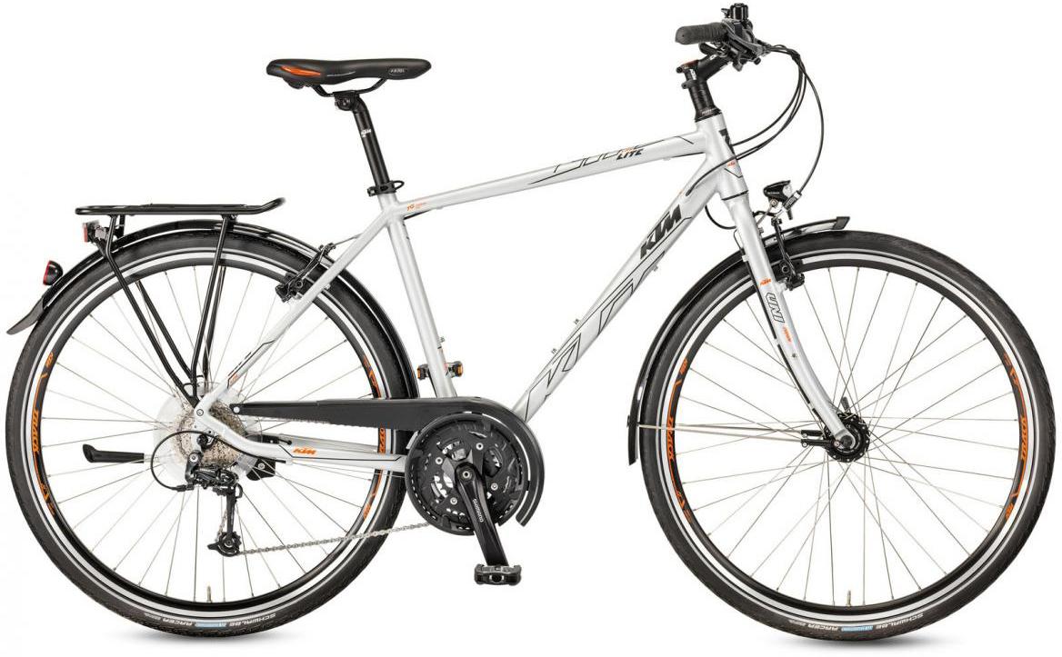 Велосипед городской KTM Life Lite 2017, цвет: серый, рама 22, колесо 28281985