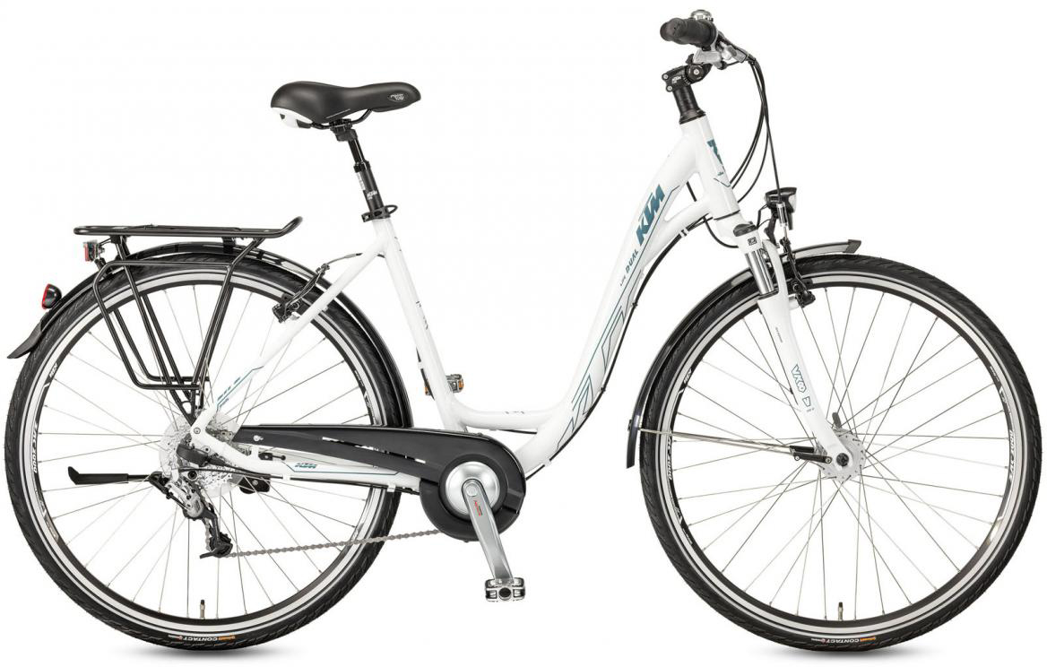Велосипед городской KTM Life Dual 2017, цвет: белый, рама 20, колесо 28282003