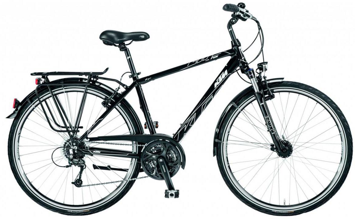 Велосипед городской KTM Life Fun 2017, цвет: черный, рама 20, колесо 28282009