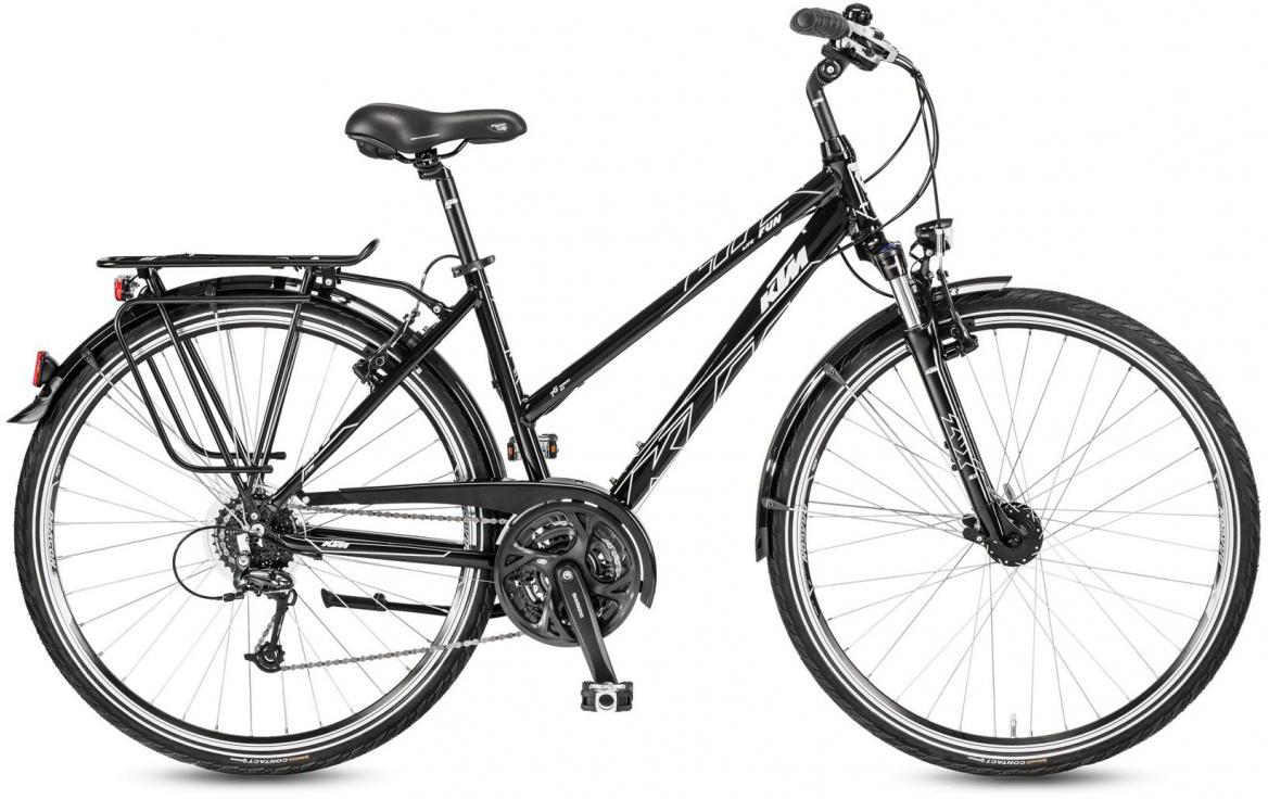 Велосипед городской KTM Life Fun Trapez 2017, цвет: черный, рама 20, колесо 28282015