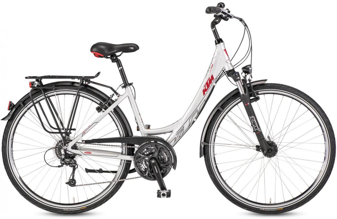 Велосипед городской KTM Life Fun Wave 2017, цвет: черный, рама 18, колесо 28282024