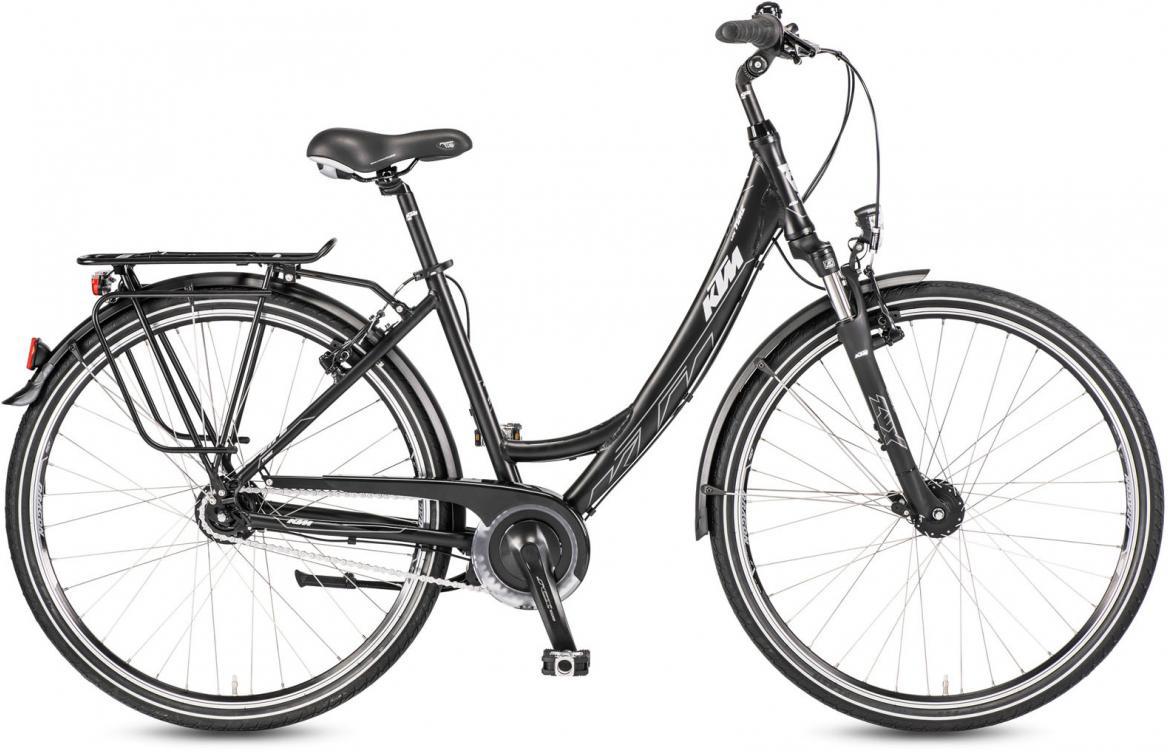 Велосипед городской KTM Life Time 8 LL Wave 2016, цвет: черный, рама 18, колесо 28282031