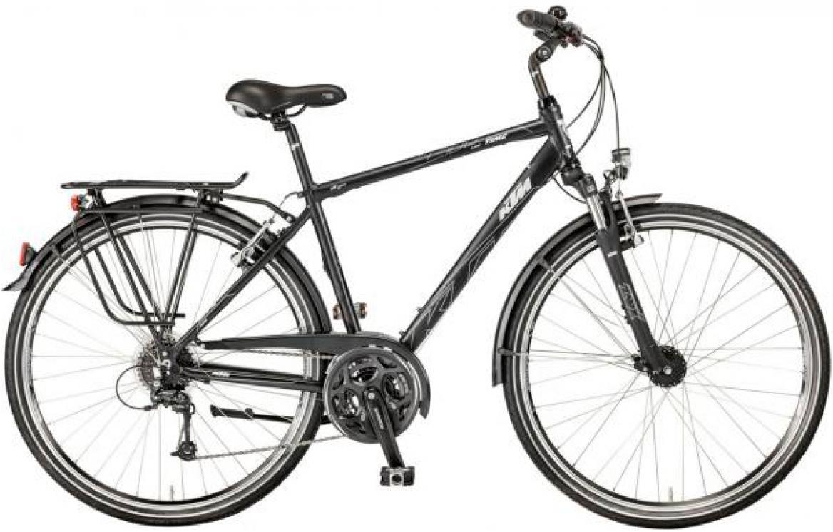 Велосипед городской KTM Life Time 2017, цвет: черный, рама 22, колесо 28282042