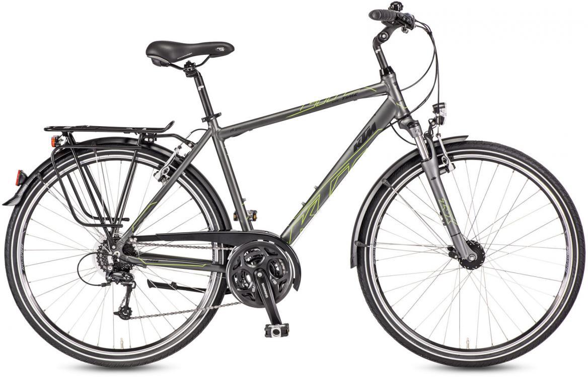 Велосипед городской KTM Life Time 2017, цвет: серый, рама 22, колесо 28282046