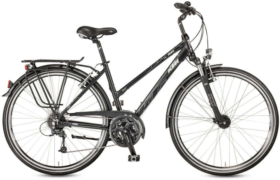 Велосипед городской KTM Life Time Trapez 2017, цвет: серый, рама 18, колесо 28282054