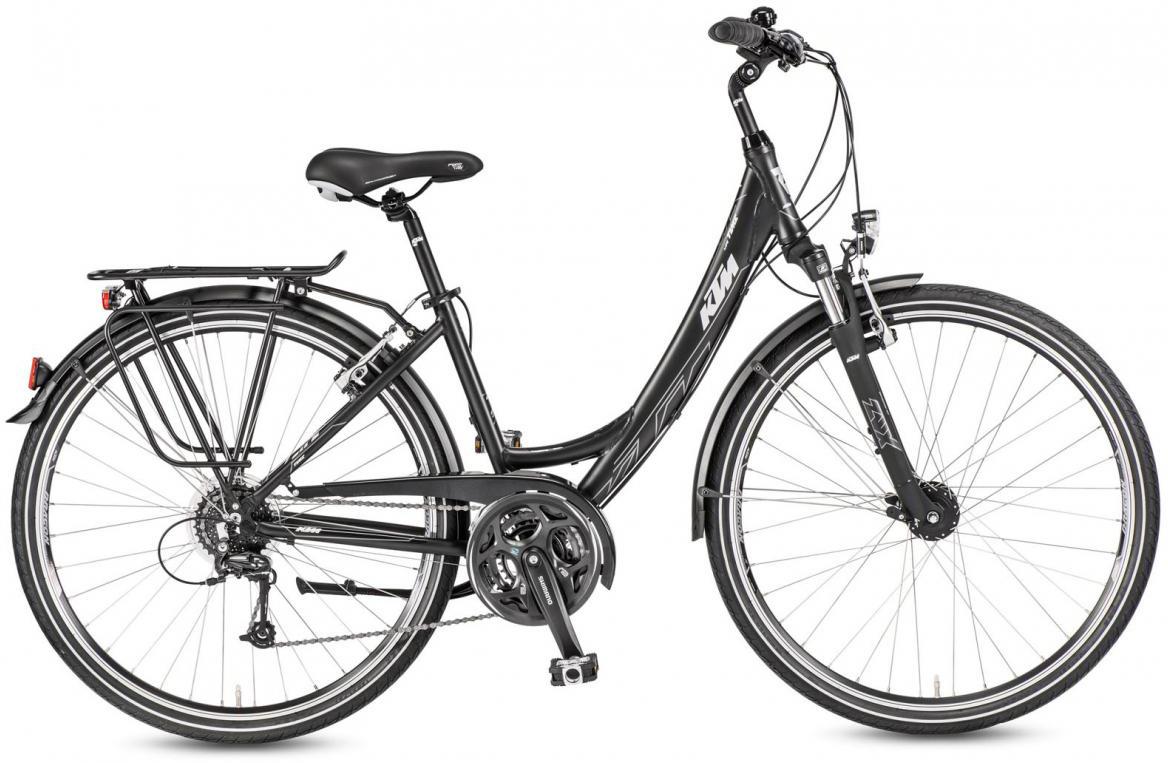 Велосипед городской KTM Life Time Wave 2017, цвет: черный, рама 20, колесо 28282066