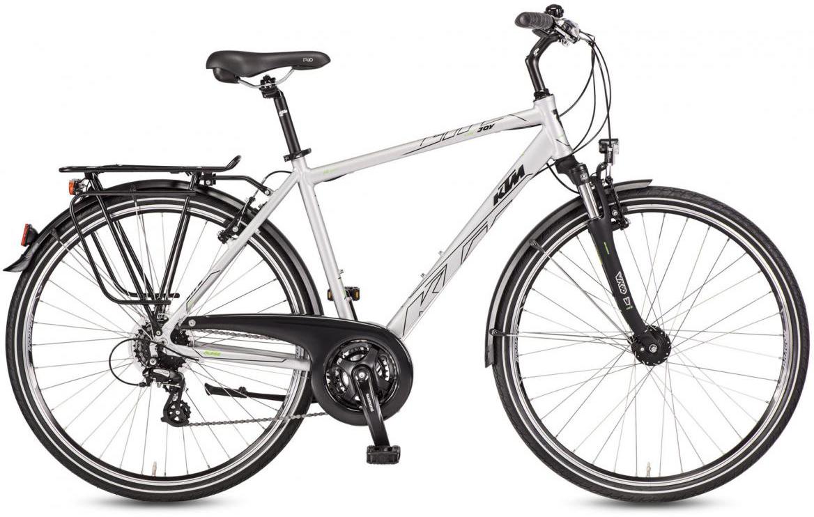 Велосипед городской KTM Life Joy 2017, цвет: серый, рама 20, колесо 28282074