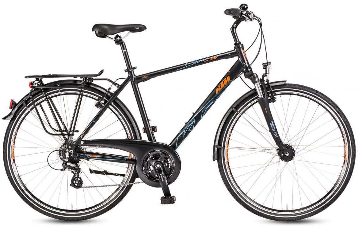 Велосипед городской KTM Life Joy 2017, цвет: черный, рама 18, колесо 28282077