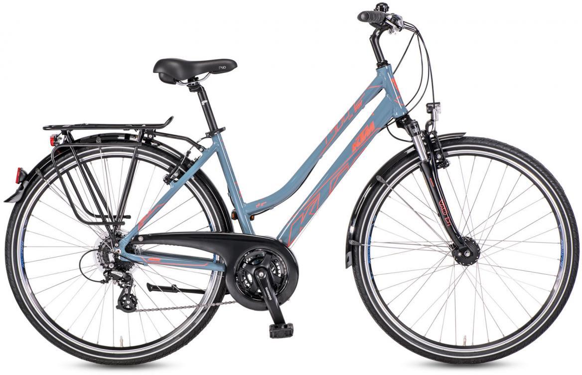 Велосипед городской KTM Life Joy Deep 2017, цвет: синий, рама 18, колесо 28282098