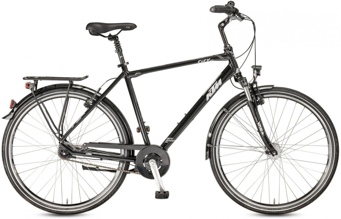 Велосипед городской KTM City Line 28.7 2017, цвет: черный, рама 23,5, колесо 28282114