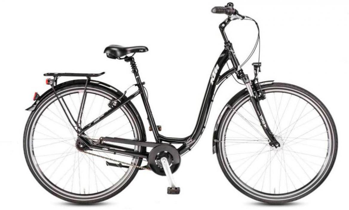 Велосипед городской KTM City Line 28.7 Wave 2017, цвет: черный, рама 18, колесо 28282116