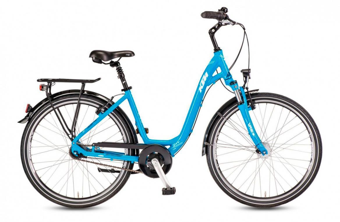 Велосипед городской KTM City Line 28.7 Wave 2017, цвет: голубой, рама 20, колесо 28282121