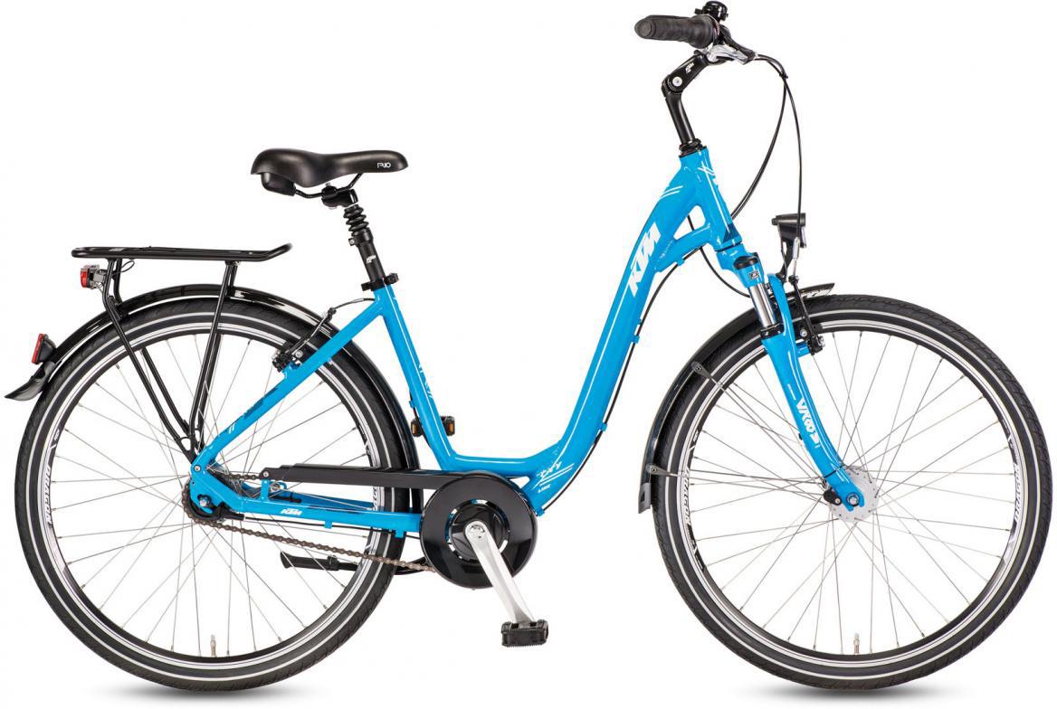 Велосипед городской KTM City Line 26.7 2017, цвет: голубой, рама 17, колесо 26282124