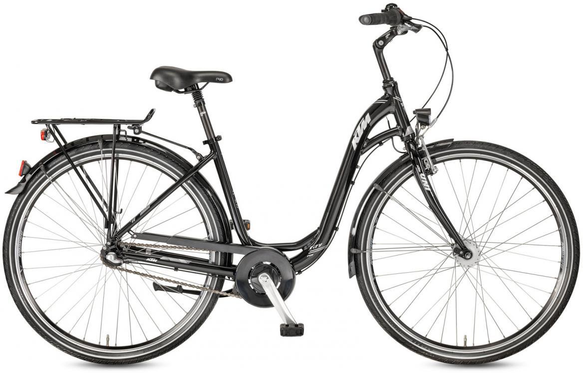 Велосипед городской KTM City Fun 28.3 2017, цвет: черный, рама 20, колесо 28282127