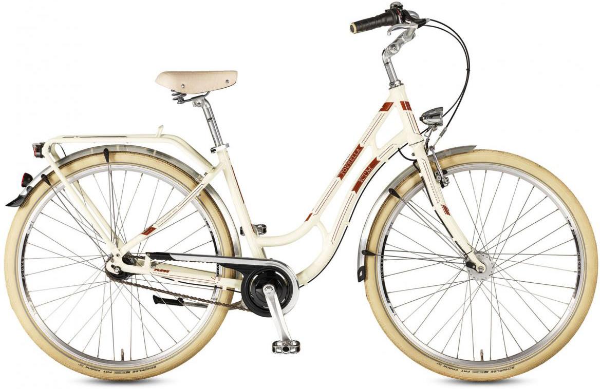 Велосипед городской KTM Tourella 28.7 2017, цвет: желтый, рама 18, колесо 28282133