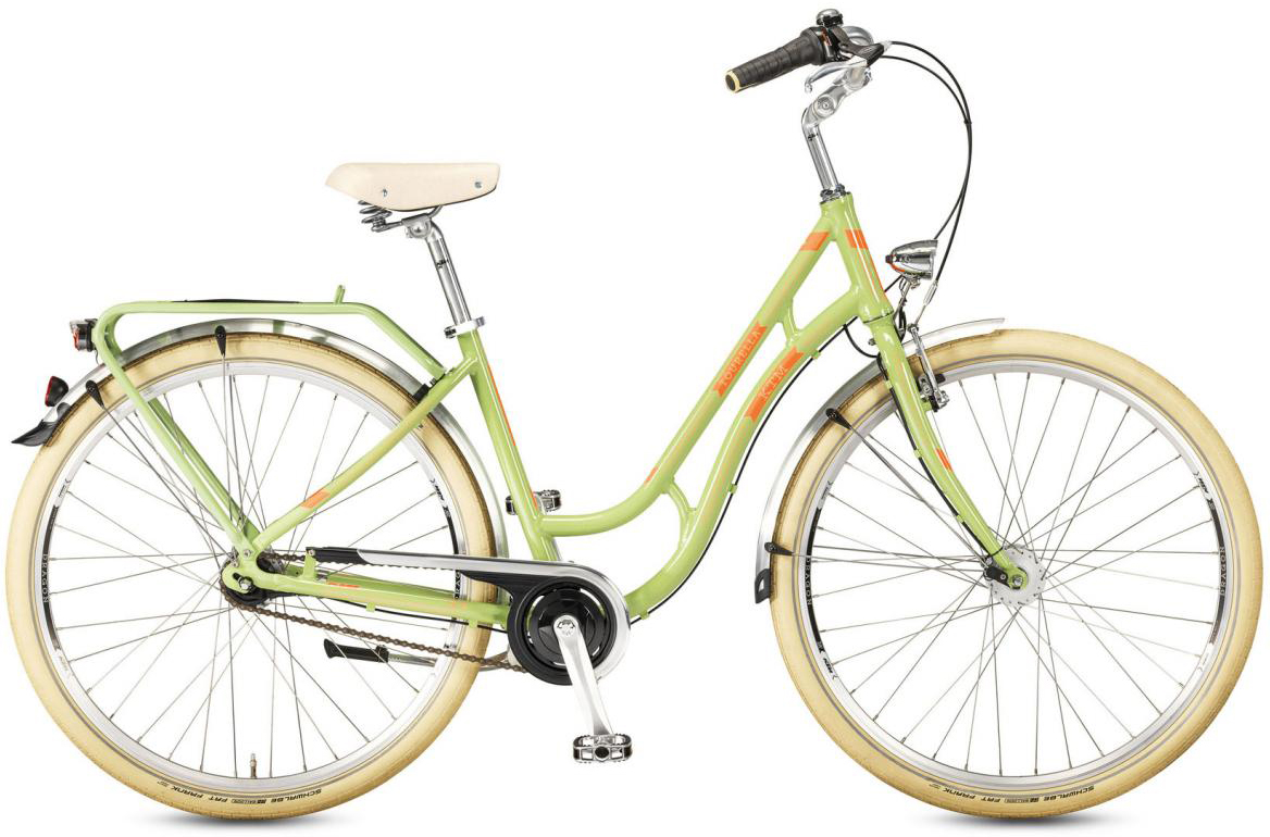 Велосипед городской KTM Tourella 28.7 2017, цвет: зеленый, рама 20, колесо 28282136