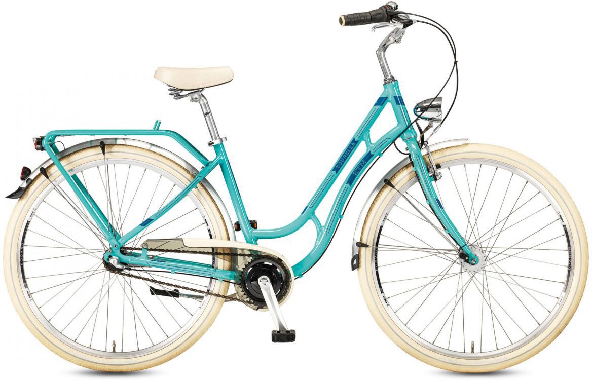 Велосипед городской KTM Tourella 28.3 2017, цвет: голубой, рама 20, колесо 28282146