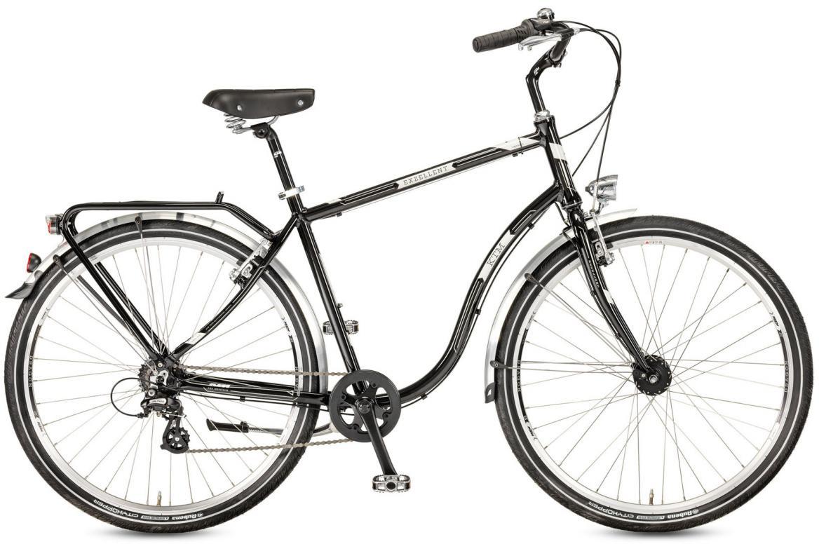Велосипед городской KTM Exzellent 28.7 RD 2017, цвет: черный, рама 22, колесо 28282159