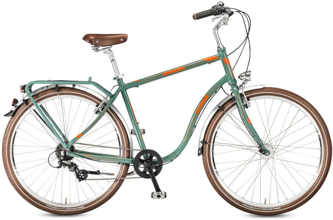 Велосипед городской KTM Exzellent 28.7 RD 2017, цвет: зеленый, рама 20, колесо 28282161