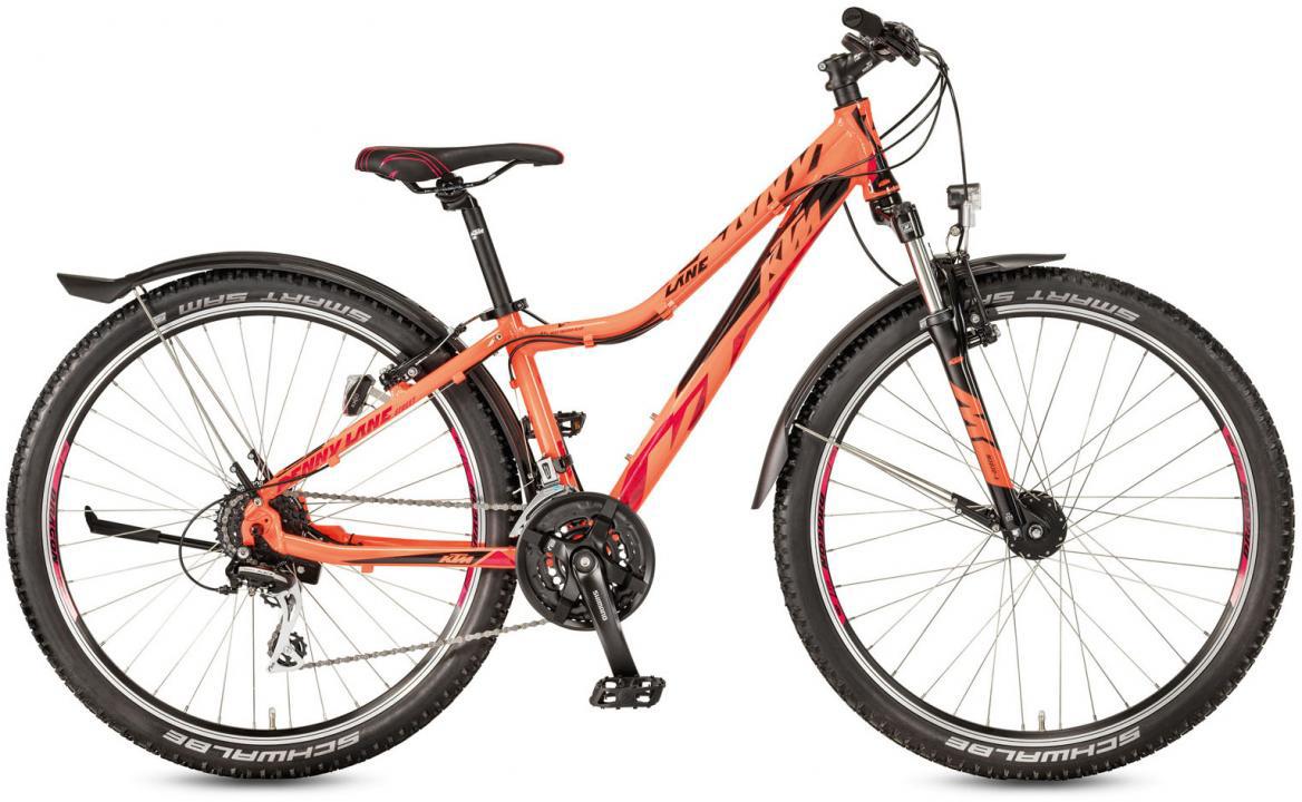 Велосипед горный KTM Penny Lane 27.24 Street 2017, цвет: оранжевый, рама 14, колесо 27,5282163