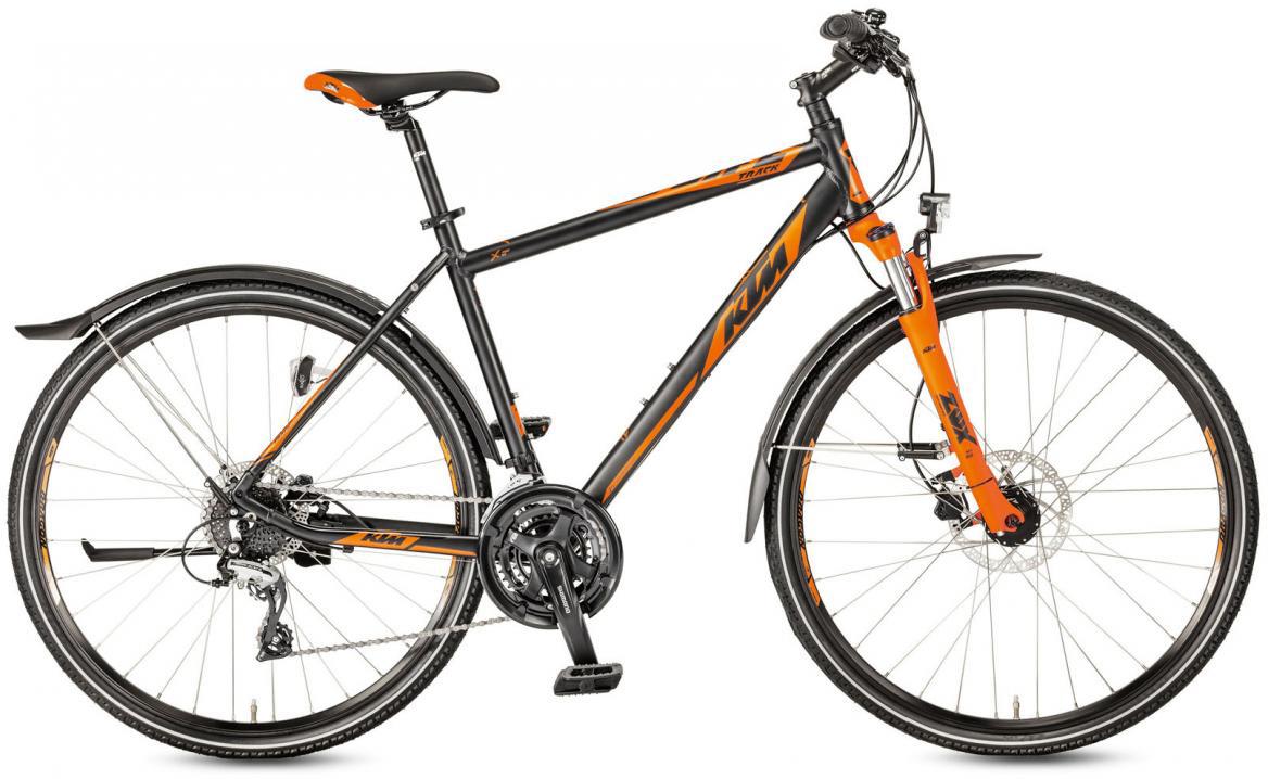 Велосипед городской KTM Life Track Street 2017, цвет: черный, рама 18, колесо 28282174