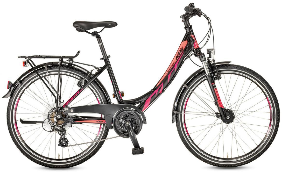 Велосипед горный KTM Country Star 26.21 Wave 2017, цвет: черный, рама 17, колесо 26282198