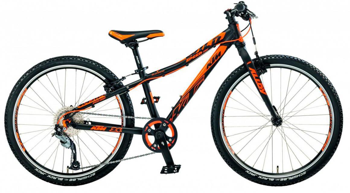 Велосипед детский KTM Wild Speed 24.9 Light 2017, цвет: черный, рама 12, колесо 24282202