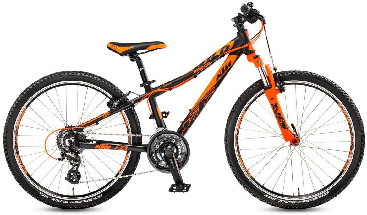 Велосипед детский KTM Wild Speed 24.24 2017, цвет: черный, рама 12, колесо 24282205