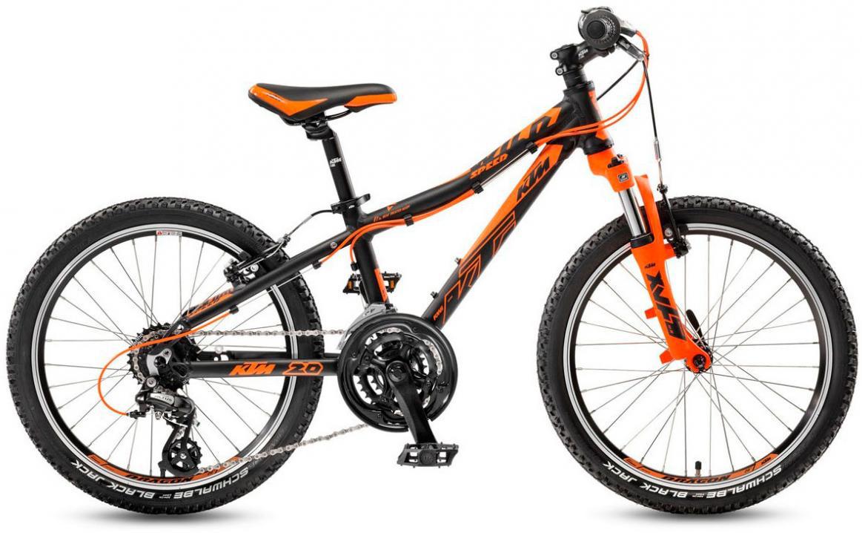 Велосипед детский KTM Wild Speed 20.21 2017, цвет: черный, колесо 20282207