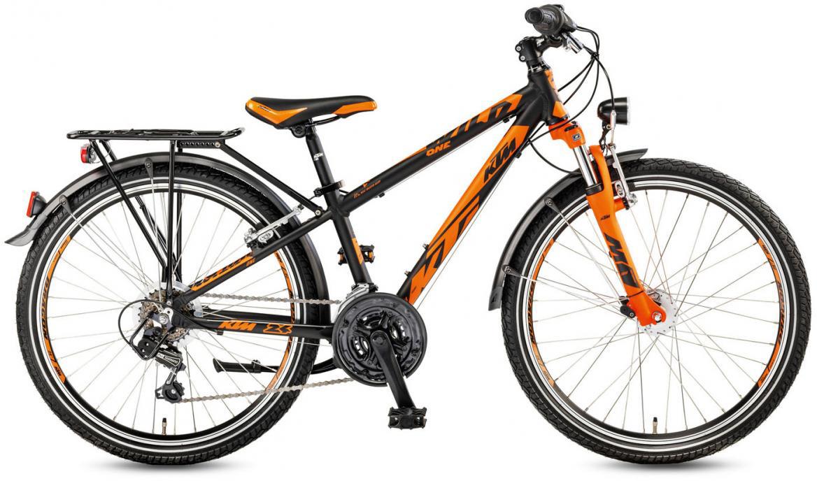 Велосипед детский KTM Wild One 24.18 2017, цвет: черный, колесо 24282213