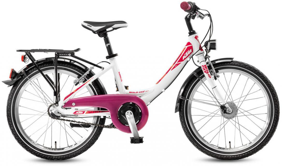 Велосипед детский KTM Wild Cat 20.3 2017, цвет: белый, колесо 20282220