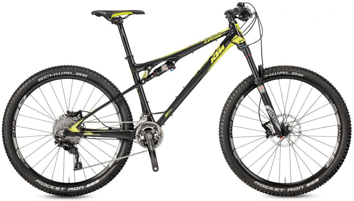 Велосипед горный KTM Lycan 273 33 2017, цвет: черный, рама 21, колесо 27,5282291