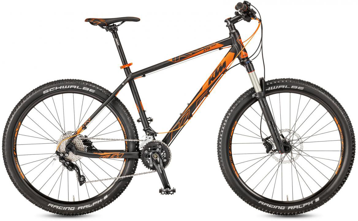 Велосипед горный KTM Ultra 1964 LTD 27 30 2017, цвет: черный, рама 17, колесо 27,5282501