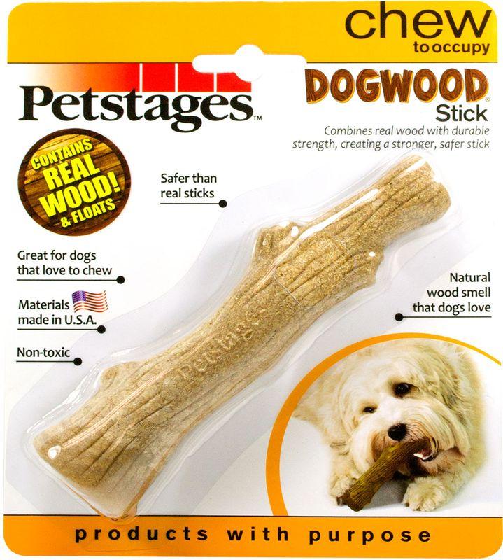 Игрушка для собак Petstages Dogwood. Палочка, деревянная, длина 16 см217YEXИгрушка - палочка для собак мелких пород. Сочетает в себе свойства настоящих деревянных палок и прочность синтетических материалов. Не токсичный, прочный материал безопаснее, чем реальные палочки. Игрушка плавает на поверхности воды.Запах натурального дерева привлекает и удерживает интерес собаки в течение нескольких часов. Отлично подходит для собак, которые любят жевать.Для собак весом от 6 до 14 кг