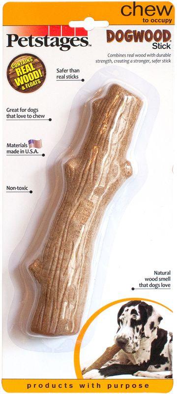 Игрушка для собак Petstages Dogwood. Палочка, деревянная, длина 22 см игрушка для собак petstages dogwood палочка деревянная длина 13 см