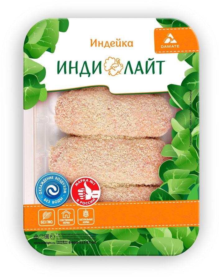 Индилайт Котлеты Нежные из индейки охлажденные, 450 г430Индилайт Котлеты Нежные требуют тепловой кулинарной обработки. Мясо индейки - постное, диетическое, содержит большое количество витаминов, минералов и белка. В этом диетическом мясе содержится полный набор аминокислот, витамины, А и D, железо, кальций, натрий. Является гипоаллергенным и низкокалорийным и поэтому подходит для детского и спортивного питания.