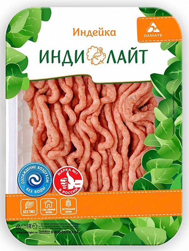 Индилайт Фарш Классический, охлажденный, 450 г489Индилайт Фарш Классический требует тепловой кулинарной обработки. Мясо индейки - постное, диетическое, содержит большое количество витаминов, минералов и белка. В этом диетическом мясе содержится полный набор аминокислот, витамины, А и D, железо, кальций, натрий. Является гипоаллергенным и низкокалорийным и поэтому подходит для детского и спортивного питания.