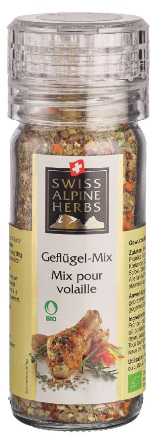 Swiss Alpine Herbs смесь специй для курицы, 62 гSAH0011Смесь специй в ручной мельнице для курицы.Приправы для 7 видов блюд: от мяса до десерта. Статья OZON Гид