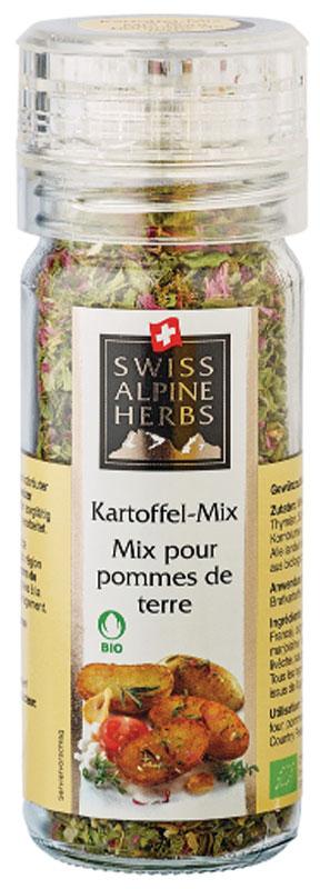 Swiss Alpine Herbs смесь специй для блюд из картофеля, 32 гSAH0012Смесь специй в ручной мельнице для блюд из картофеля.Приправы для 7 видов блюд: от мяса до десерта. Статья OZON Гид