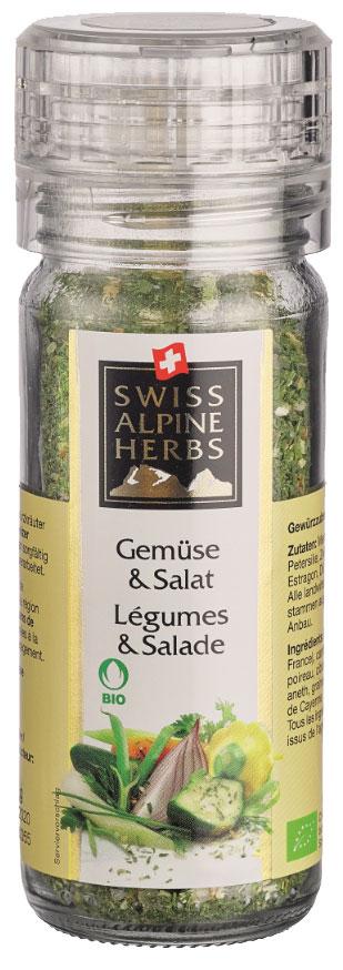 Swiss Alpine Herbs смесь специй для салатов супов овощей, 42 гSAH2007Смесь специй в ручной мельнице.Приправы для 7 видов блюд: от мяса до десерта. Статья OZON Гид