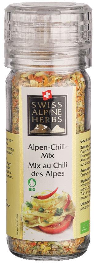Swiss Alpine Herbs альпийская смесь специй острая, 64 гSAH2008Смесь острых специй в ручной мельнице.Приправы для 7 видов блюд: от мяса до десерта. Статья OZON Гид