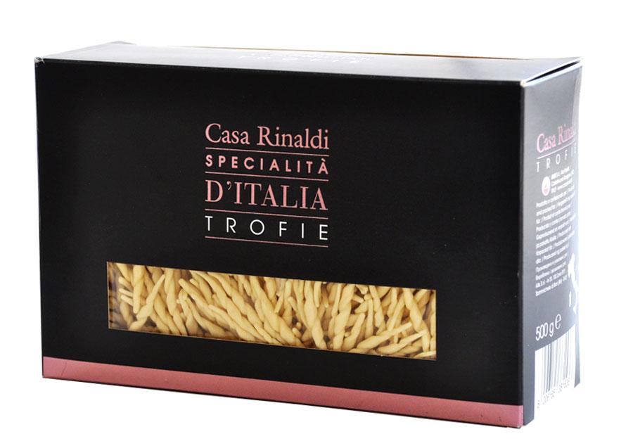 Casa Rinaldi Паста Лигурийская ручной работы, 500 г casa rinaldi паста пенне ригате из калабрии ручной работы 500 г